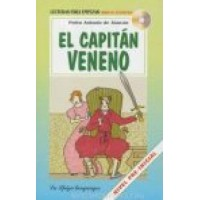 LECTURA EL CAPITAN VENENO + AUDIO CD, A1