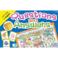 JUEGO QUESTIONS AND ANSWERS, A2-B1, INGLES, TARJETAS