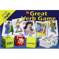JUEGO THE GREAT VERB GAME, A2-B1, INGLES, TARJETA